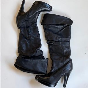 EUC Jessica Simpson leather boots